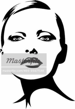glamour fashion woman illustration
