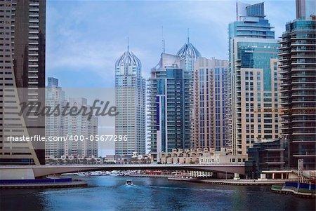 Big city, Dubai Marina, United Arab Emirates