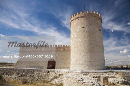 castle of Arevalo city in Avila Castilla y Leon Spain