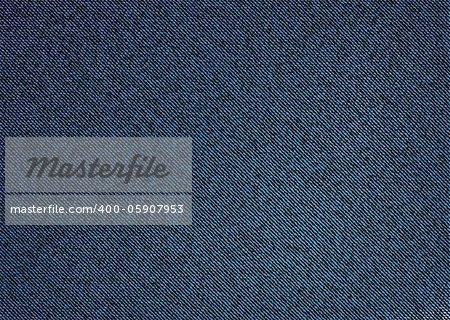 Dark material denim background with stitch weave effect