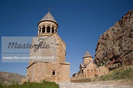 Ancient armenian church in Noravank.