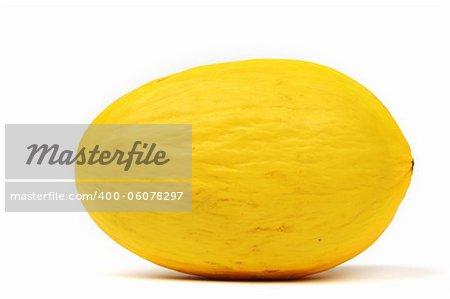 honeydew melon isolated on white