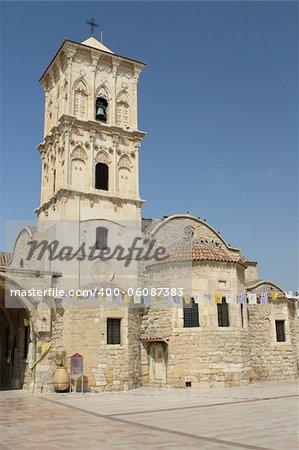 The famous Agios Lazaros church in Larnaca, Cyprus