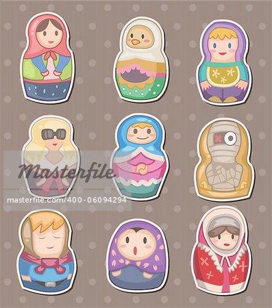 cartoon Russian stickers