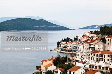 Panoramic View of Neum in Bosnia and Herzegovina