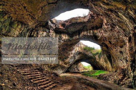Cave near village Devetaki in Bulgaria