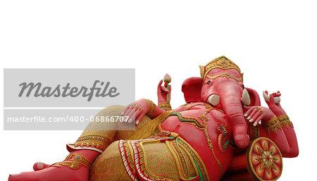 Hindu god, Ganesh statue in Thailand