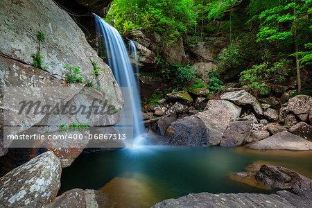 Long exposure image of Eagle Falls in Cumberland Falls State Resort Park, Kentucky