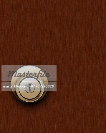 Door Knob on Brown Wooden Door
