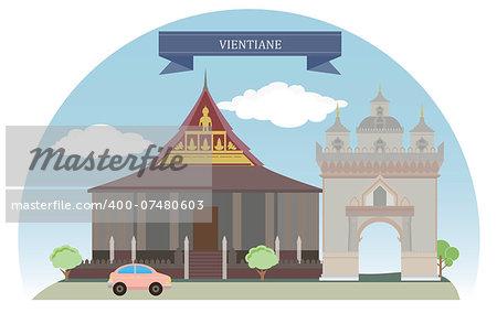 Vientiane, Laos. For you design
