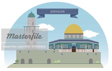 Jerusalem, Israel. For you design