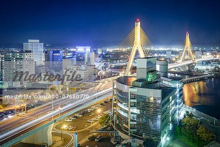 Aomori City, Aomori Prefecture, Japan.