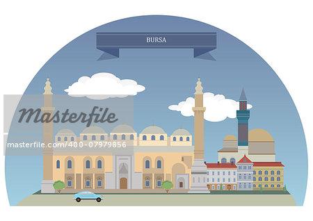 Bursa, large city in Turkey, located in northwestern Anatolia