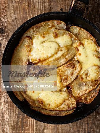 close up of traditional english pub grub comfort food pan haggerty