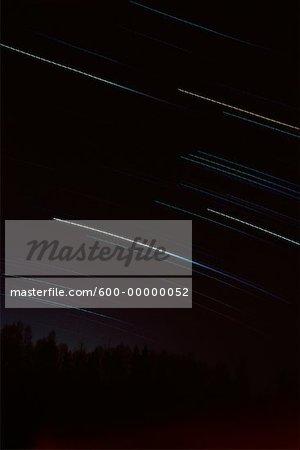 Star Trails Shampers Bluffs New Brunswick, Canada