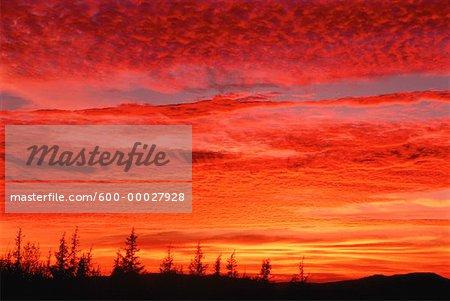 Shampers Bluff at Sunset New Brunswick, Canada