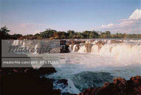 Sioma Falls, Zambezi River, Zimbabwe