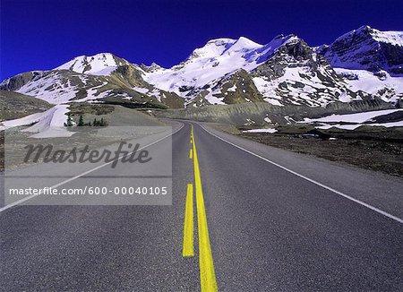 Columbia Icefield, Highway #93 Jasper National Park, Alberta Canada