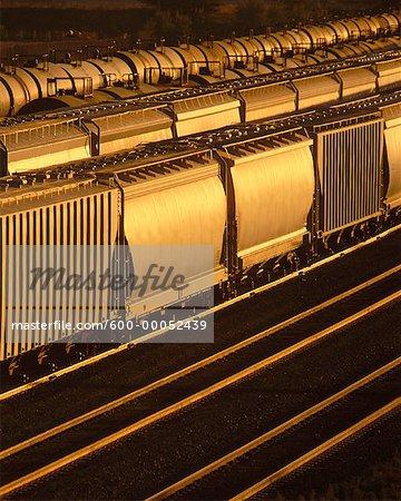 Trains and Rail Yard