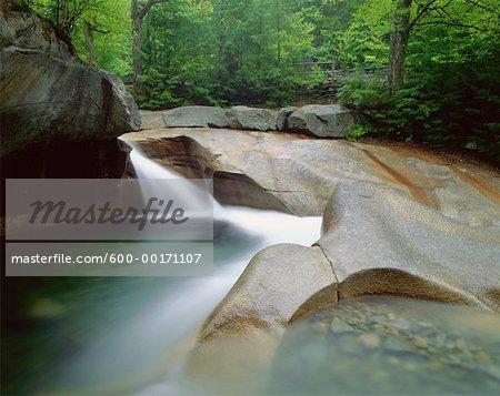 The Basin, Pemigewasset River, Franconia Notch State Park, New Hampshire, USA