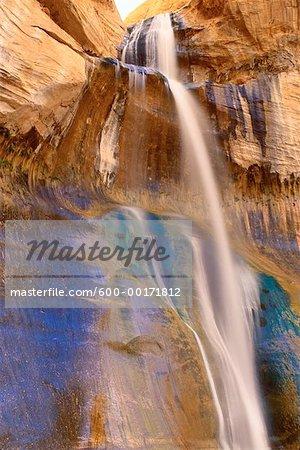 Lower Calf Creek Falls, Utah, USA