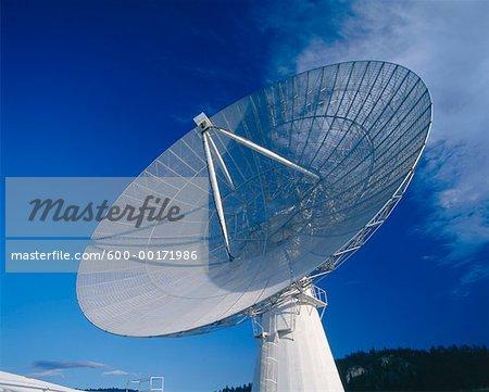 Radio Telescope, Penticton, British Columbia, Canada