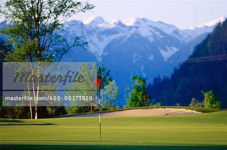 Golf Course, Fraser Valley, British Columbia, Canada