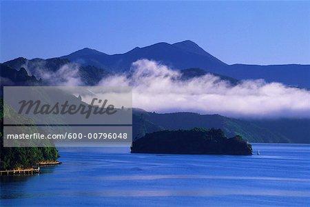 Morning Fog, Queen Charlotte Sound, New Zealand