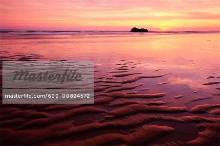 Coastline, Brittany, France