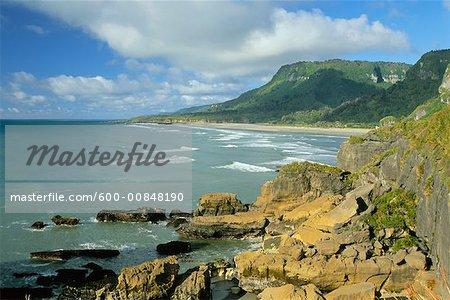 West Coast, Paparoa National Park, South Island, New Zealand