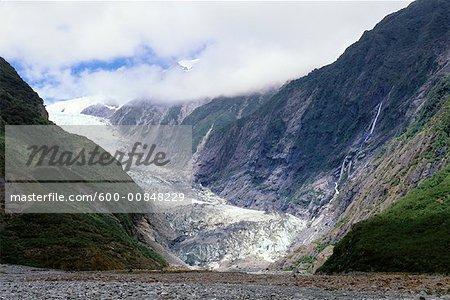 Franz Josef Glacier, Westland National Park, New Zealand