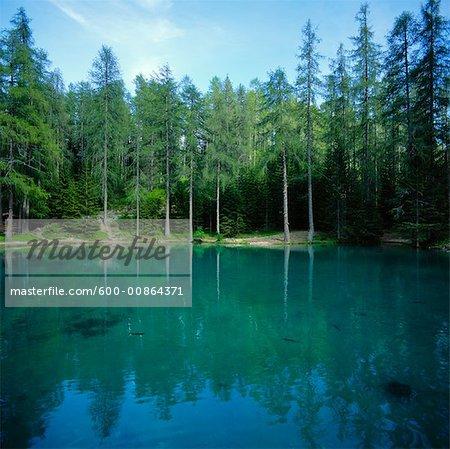Ghedina Lake, Cortina, Italy