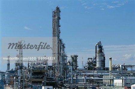 Oil Refinery, Austria