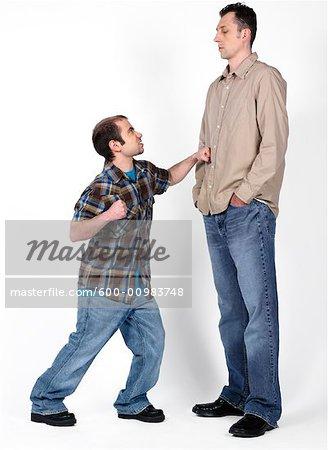 short guys vs tall guys