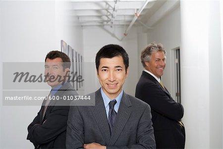 Group Portrait of Businessmen