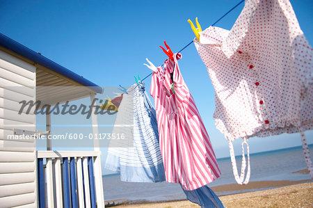 Clothesline at Beach House
