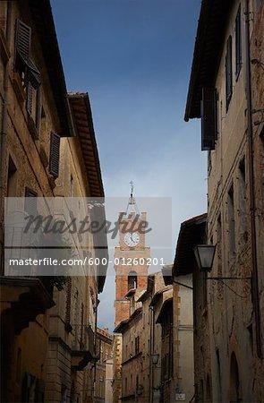 Clock Tower, Tuscany, Italy