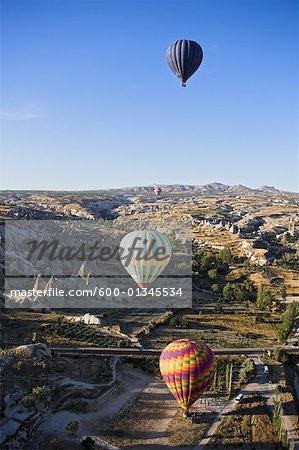 Hot Air Balloons, Goreme Valley, Cappadocia, Turkey