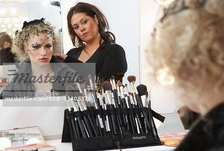 Model Preparing Backstage