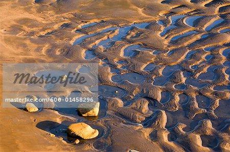 Patterns in Sand, North Taranaki Bight, North Island, New Zealand