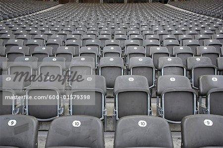 Stadium Seating, Berlin Olympic Stadium, Germany