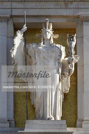 Vittorio Emanuele II Monument, Piazza Venezia, Rome, Italy