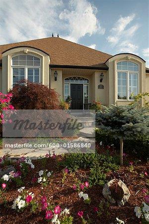 Exterior of House, Niagara On The Lake, Ontario, Canada