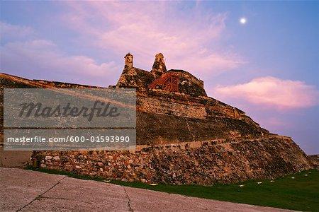 Castillo de San Felipe de Barajas Cartagena, Colombia