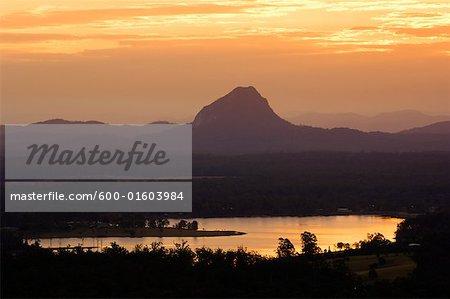Noosa Heads at Sunset, Queensland, Australia