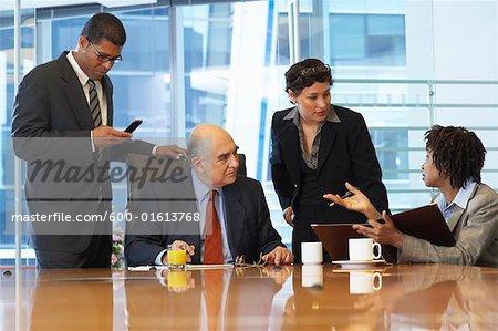 business meeting stock photo masterfile premium royalty free