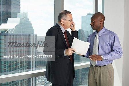 Businessmen in Office