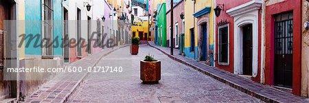 Colourful Buildings in Guanajuato, Mexico