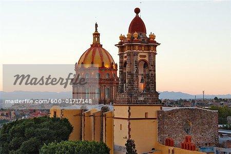 Las Monjas Monastery at Dusk, San Miguel de Allende, Mexico