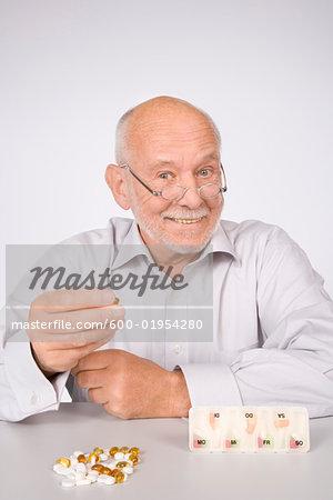 Man with Pills